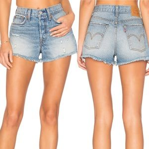 Levi's High Rise Wedgie Short in Havana Affair